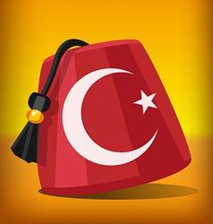 Turkish fez vector