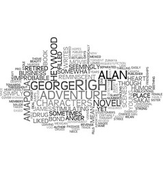 Amapola book review text word cloud concept vector