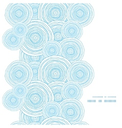 doodle circle water texture vertical frame vector image