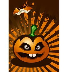 Halloween abstract background vector image vector image
