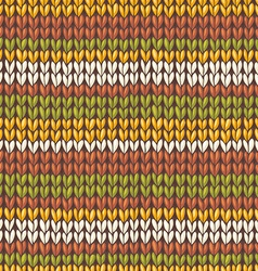 stockinette stitch texture vector image vector image