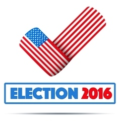 Symbol of Election 2016 vector image vector image