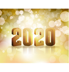 2020 new years eve concept vector