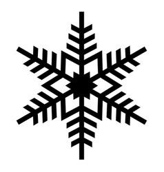 element silhouette single christmas vector image