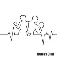 Fitness Center logo vector