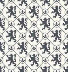 Heraldic background seamless vector image
