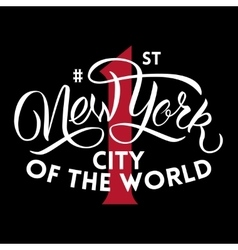 New york first city vector