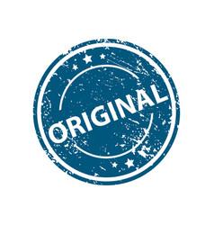 original stamp texture rubber cliche imprint web vector image