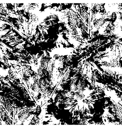 Abstract seamless pattern in black and white vector image vector image