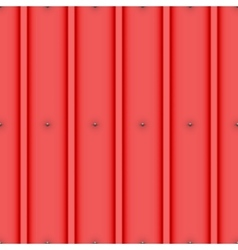 Metal roof with nails seamless pattern vector image