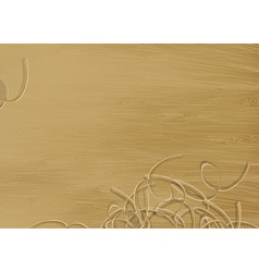 pine wood texture vector image vector image