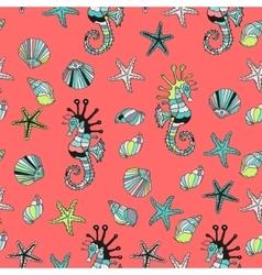 Cartoon design Red sea vector