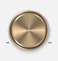 Dial knob vector