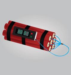 Dynamite bomb vector