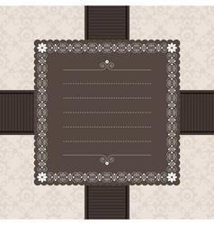 frame decoration vector image