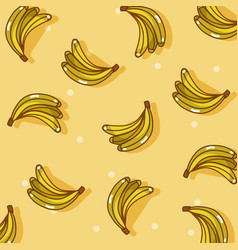 Fruits pattern background vector