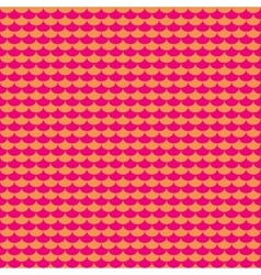 Pink and orange scales seamless pattern vector image
