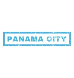 Panama City Rubber Stamp vector image vector image