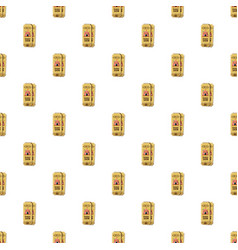 Circus tickets pattern vector