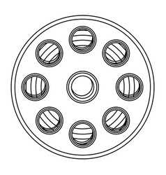 film production clipart icon vector image