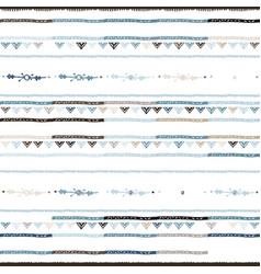 A nursery geometric chevron stripe pattern vector