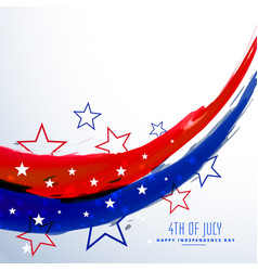American 4th july celebration background vector