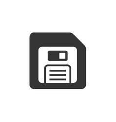 Disk icon images on white background vector