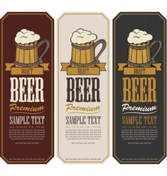 Labels for the beer vector