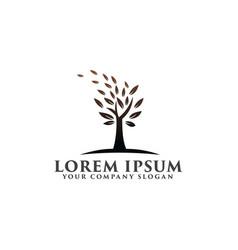 tree natural logo environmental and green vector image