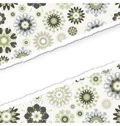 ragged seamless pattern vector image vector image