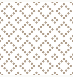Seamless geometrical pattern with circles vector image
