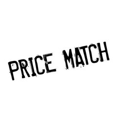 price match rubber stamp vector image