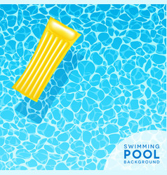 pool water background. Clear Blue Swimming Pool Water Background Vector Image