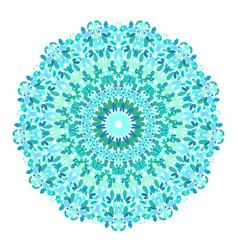 Floral ornamental mandala graphic design vector