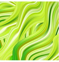 Green flow poster wave liquid shape color vector