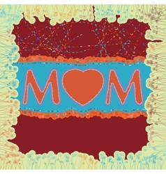 Happy Mothers Day EPS 8 vector image
