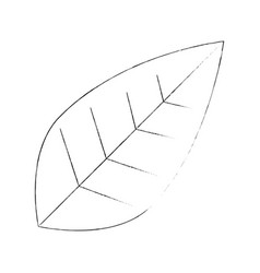 Leaves eco symbol vector