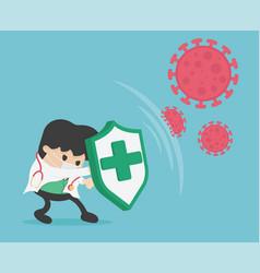 Stop coronavirus 2019 dont be afraid the vector