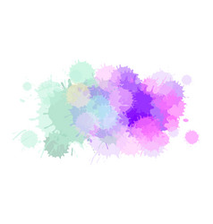 Watercolor abstract background or aquarelle vector