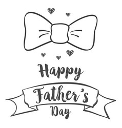 happy father day background design vector image