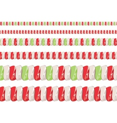 Candy Cane Borders2 vector