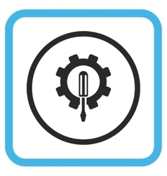Engineering Icon In a Frame vector