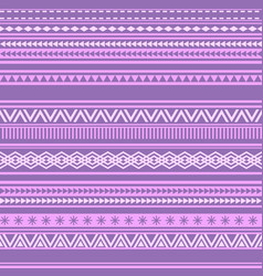Geometric seamless pattern pink and purple vintage vector