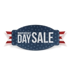 Independence Day Sale greeting Banner vector image
