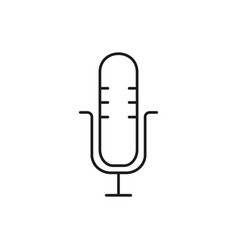 microphone voice icon vector image