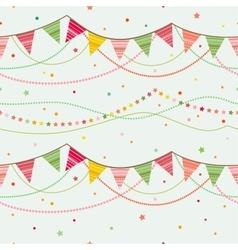 Party seamless background vector