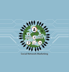 People network icon concept market transportion vector