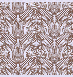 repaint seamless pattern simple aries vector image