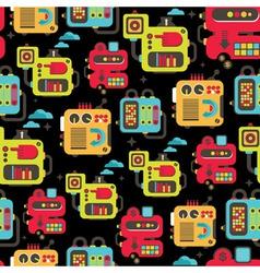 Robots Background vector image