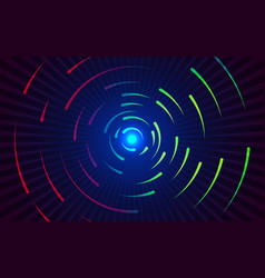 round lines background abstract colorful gradient vector image